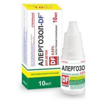 Алергозол-DF 0.03%-10 мл глазн.и назальн.капли