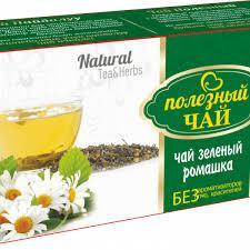 Чай полезный ромашковый Natural зеленый 2.0 №25