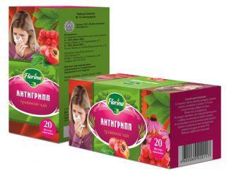 Чай травяной 1,5 №20 Florina антигрипп
