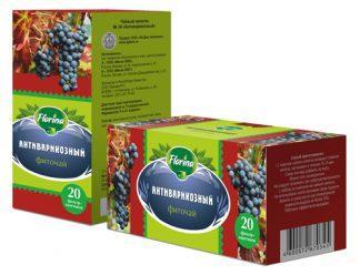Чай травяной 1,5 №20 Florina антиварикозный