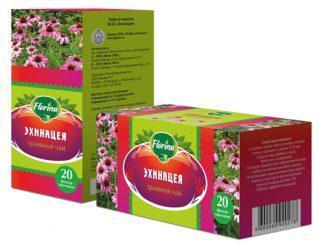 Чай травяной 1,5 №20 Florina эхинацея