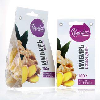Фрутовит имбирь цукаты 100 г