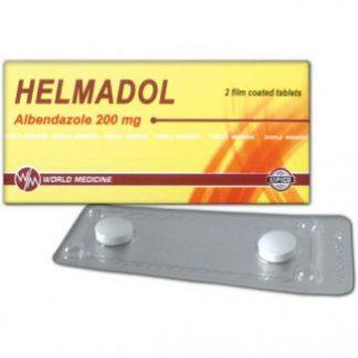 Гелмадол 200 мг №2  (албендазол)