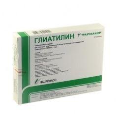 Глиатилин 1000мг 4 мл №3 д/иньек.