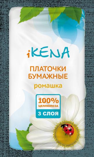 Икена платочки бумажные №10