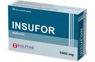 Инсуфор 1000 мг №30 табл.