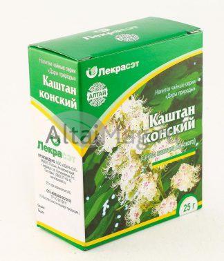 Каштан конский цветы 25 г Алтай