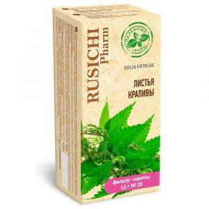Крапивы листья 50.0   Русичи целебные травы