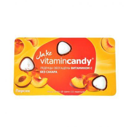 Леденцы vitamincandy №15 с вит.С персик