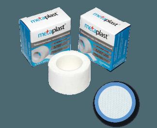 Лейкопластырь Metaplast 1,25х500 на тканевой основ