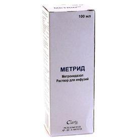 Метрид 0.5% 100.0 (метрогил)