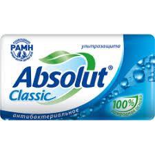 Мыло Absolut 90г клас. нежное антибак