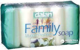 Мыло Dalan 100 гр в ассорти белое