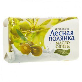 Мыло-крем Лесная полянка 90 г масло оливы