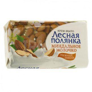 Мыло-крем Лесная полянка 90 г миндальное молочко