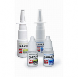 Нафазолин-DF 0.1%-10 мл капли для носа