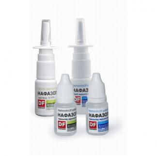 Нафазолин-DF 0.1%-10 мл спрей назальный