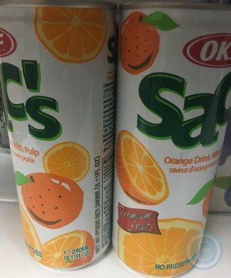 Напиток Sacs 240 мл orange