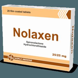Нолаксен 25/25 мг №20 табл.