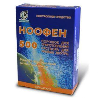 Ноофен 500 мг №24 капс.