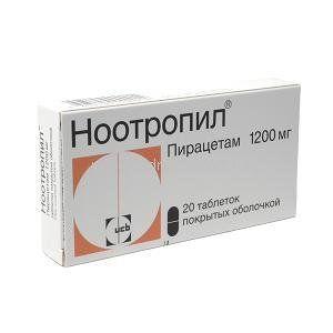 Ноотропил 1200 мг №20
