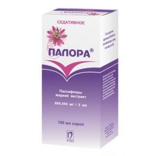 Палора 100 мл сироп