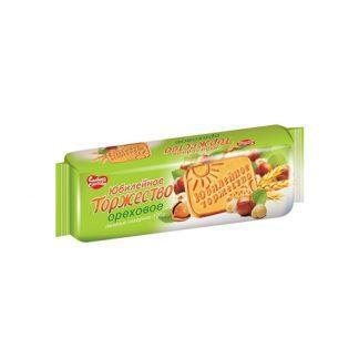 Печенье Юбилейное торжество ореховое 120 гр