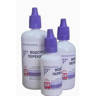 Перекись водорода -DF3% 50мл флакон-капельница