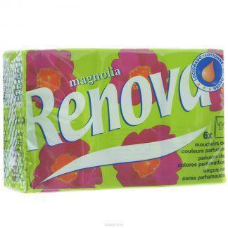 Платочки носовые Ренова №1 menthol sensitive