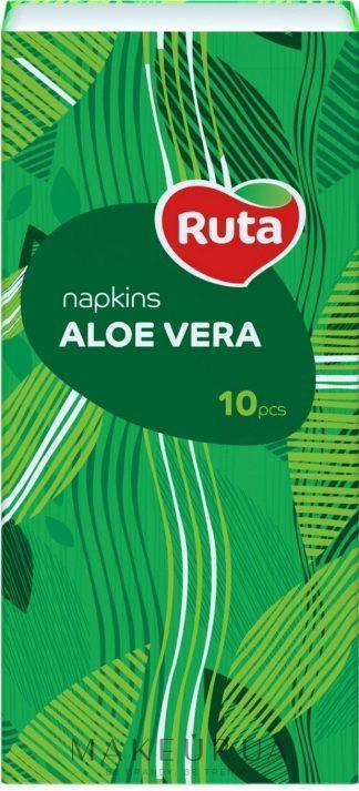 Платочки Ruta бумаж.носовые алое вера №10