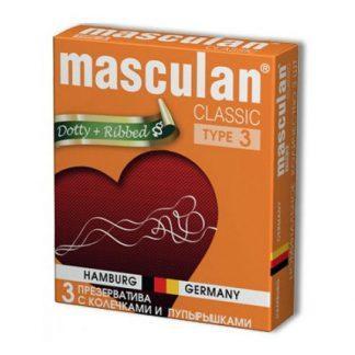 Презервативы  Маскулан-3 №10