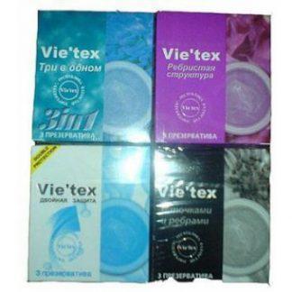 Презервативы vie` tex №3 двойная защита