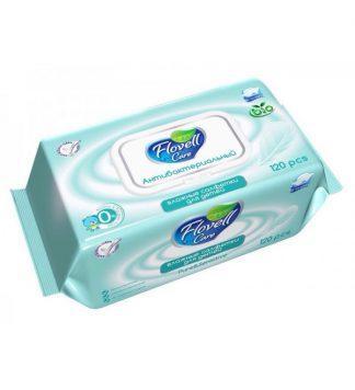 Салфетки влажные Flovell №15 очищающие б/запаха