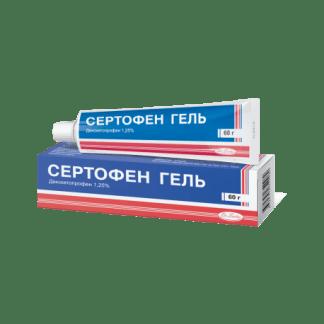 Сертофен гель 1,25 %  60 г