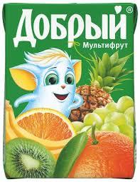 Сок Добрый 0,2л мультифрут