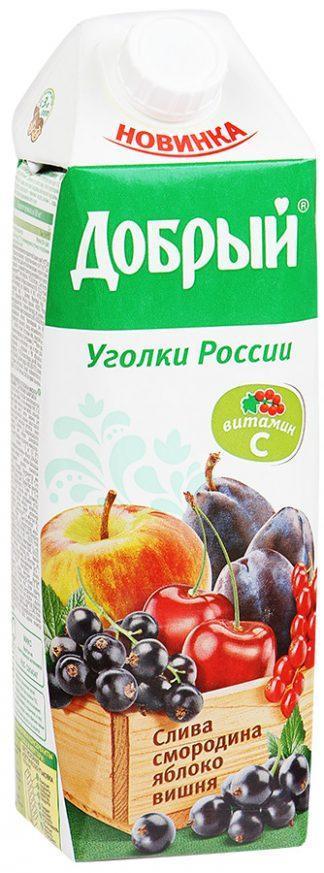 Сок Добрый 1л фруктовый с вит.С