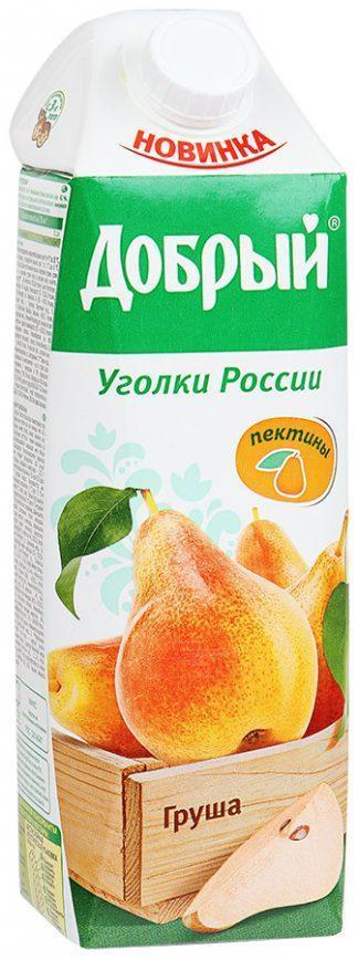 Сок Добрый 1л груша