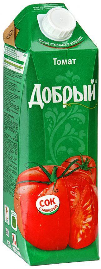 Сок Добрый 1л томат