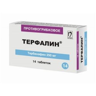 Терфалин 250 мг №14 табл.