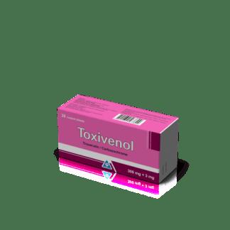 Токсивенол 300 мг/3 мг №30 табл.