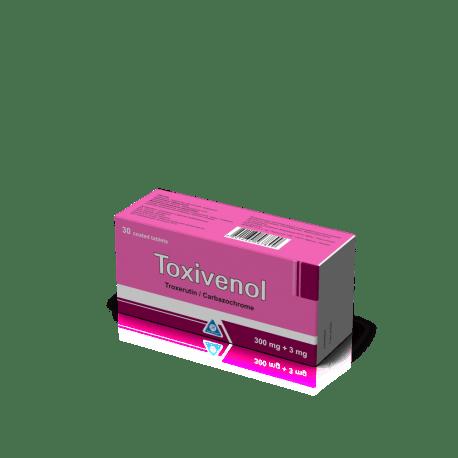 Токсивенол таблетки покрытые оболочкой 300мг/: инструкция.