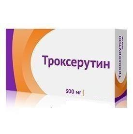 Троксерутин 300 мг №50
