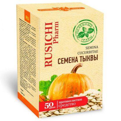 Тыквы семя 50.0    Русичи целебные травы