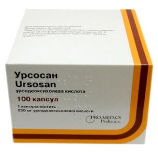 Урсосан 250 мг №100 капс.
