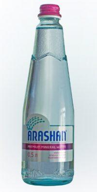 Вода Арашан 0,5 л стекло