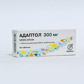 Адаптол 300 мг №20 капсулы