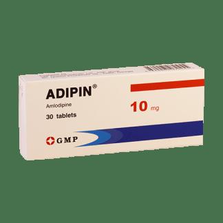 Адипин 10 мг №30 таблетки