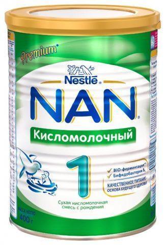 Нан 1 400 гр. кисломолочный