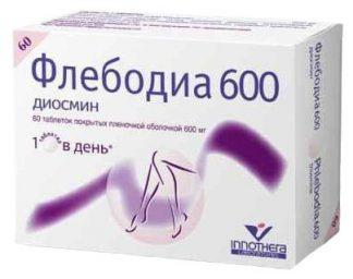 Флебодиа 600 мг №60