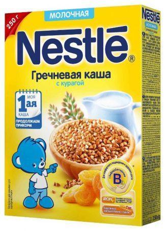 Нестле каша мол.гречневая с курагой 220.0